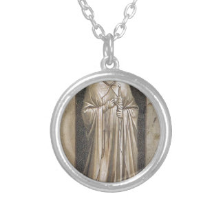 Templanza por Giotto Collar Plateado