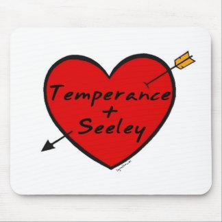 Templanza y Seeley Tapete De Raton