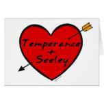 Templanza y Seeley Tarjetas