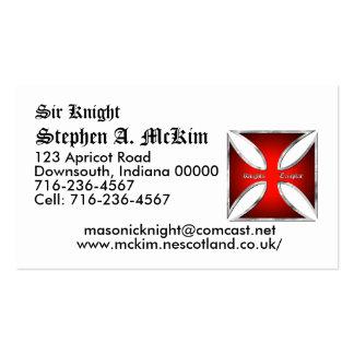 Templar Business Card Template