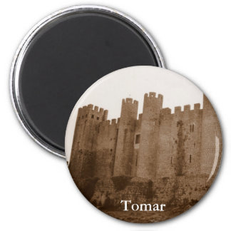 Templar Castle 2 Inch Round Magnet