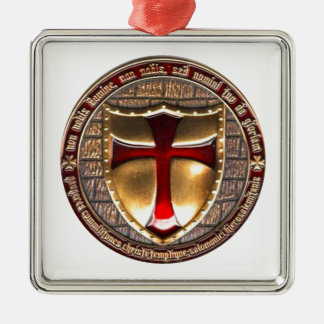 TEMPLAR COIN. METAL ORNAMENT