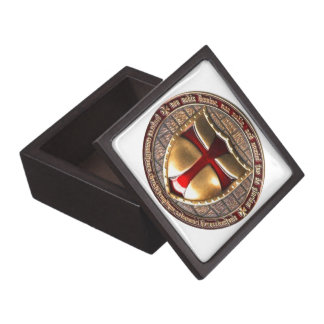 TEMPLAR COIN. PREMIUM KEEPSAKE BOX
