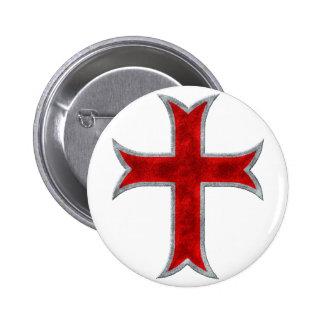Templar Cross Pin
