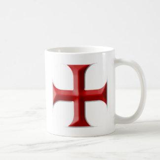 Templar Cross Coffee Mug