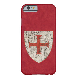 Templar Cross, Distressed Barely There iPhone 6 Case