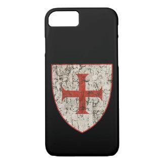 Templar Cross, Distressed iPhone 8/7 Case