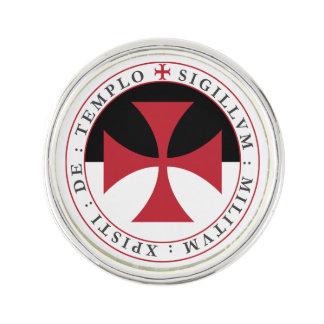 Templar Cross Lapel Pin
