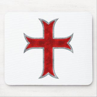 Templar Cross Mouse Pad