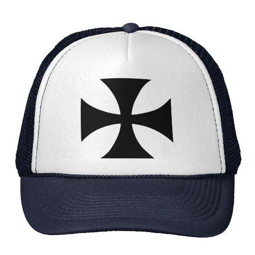 Templar cruzado gorro de camionero