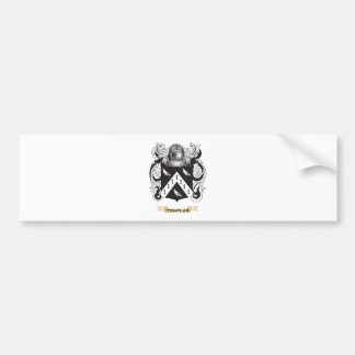 Templar Family Crest (Coat of Arms) Bumper Stickers
