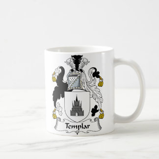 Templar Family Crest Coffee Mug