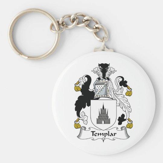 Templar Family Crest Keychain