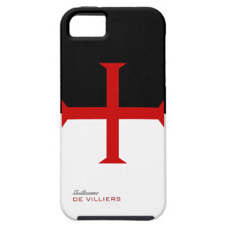 Templar Flag Case with your name iPhone 5 Case