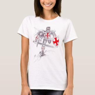 Templar Knight Art T-Shirt