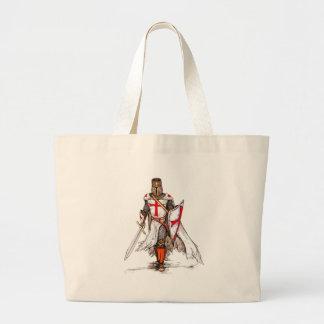 Templar Knight Jumbo Tote Bag