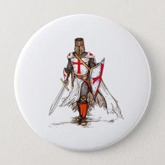 Templar Knight Pinback Button