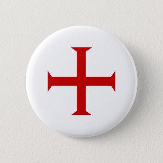templar knights red cross malta teutonic hospitall pinback button