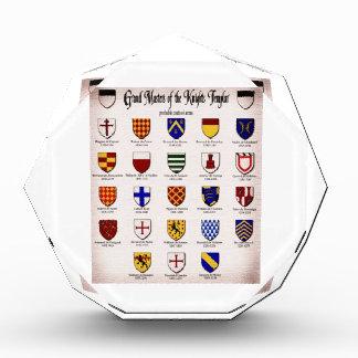 Templar Master Heraldry Award