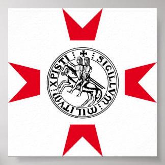 Templarii Militum cristo Poster2 Póster