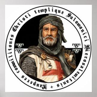 Templario caballero póster