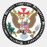 Templario EE.UU. pegatina Nr. 0829122013