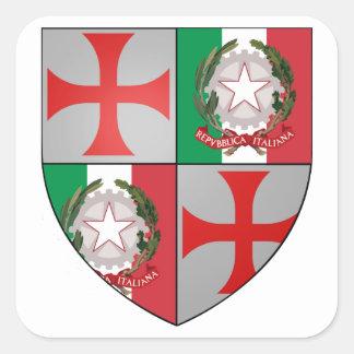 Templario Italiam pegatina Nr. 0125092013