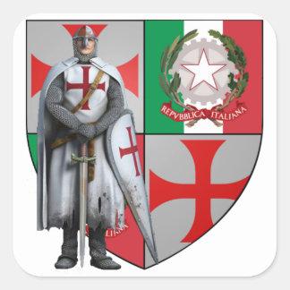 Templario Italiam pegatina Nr. 0225092013
