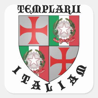 Templario Italiam pegatina Nr. 0425092013