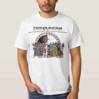 Templarius lucha de caballero Shirt Nr. 0208092013 Playera