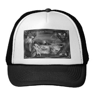 Templar's Awareness Hat B&W