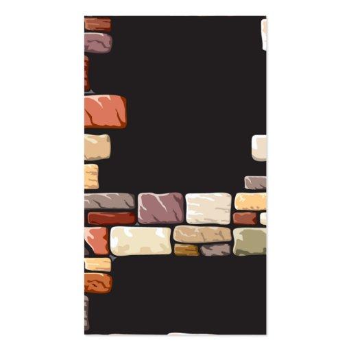 templat profesional moderno abstracto de la tarjet tarjeta de visita