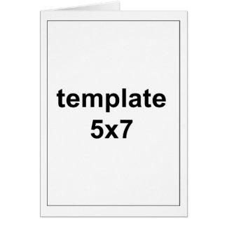 5x7 Templates Gifts on Zazzle