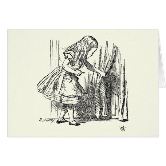 Template Alice Looking for the Door