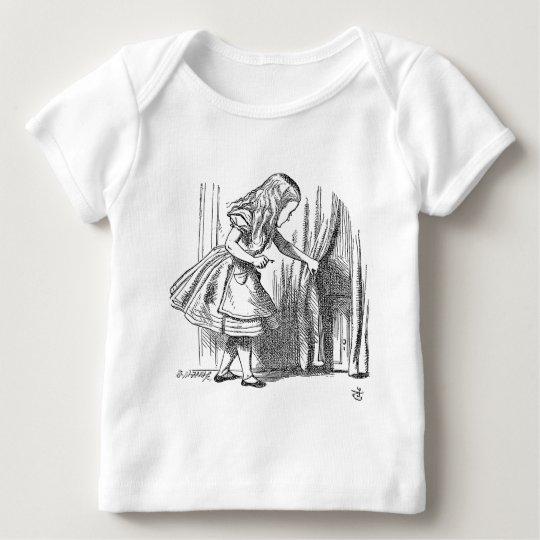 Template Alice Looking for the Door Baby T-Shirt