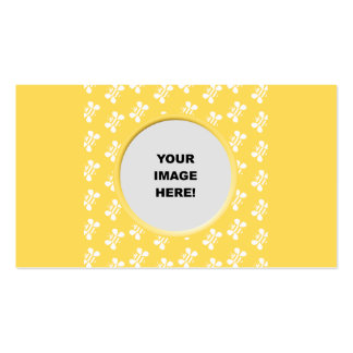 Template, Bee Border Business Card Template