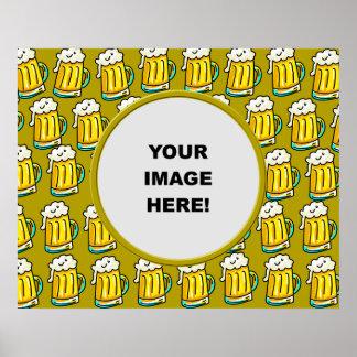Template, Beer Border Print