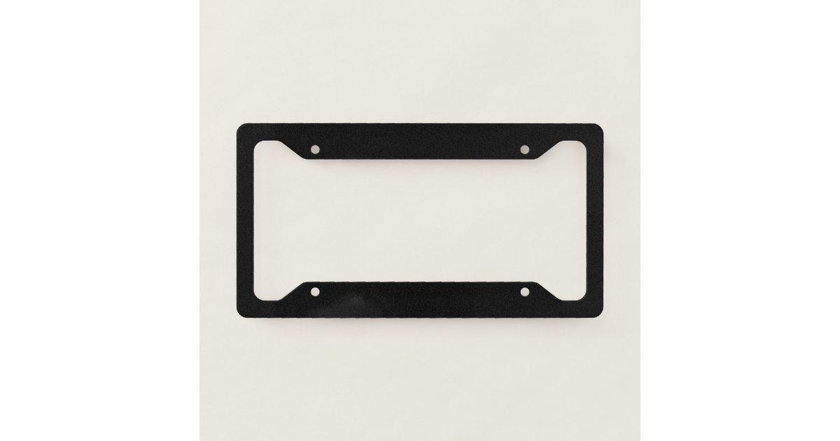Luxury Blank License Plate Frames Gallery - Custom Picture Frame ...