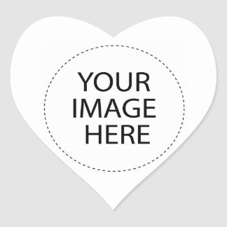 Template Blank   Add your image text or buy BLANK Heart Sticker