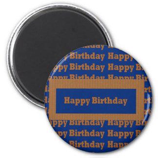Template BLANK Happy+Birthday  Happy+Anniversary Magnets