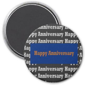 Template BLANK Happy+Birthday  Happy+Anniversary Refrigerator Magnets