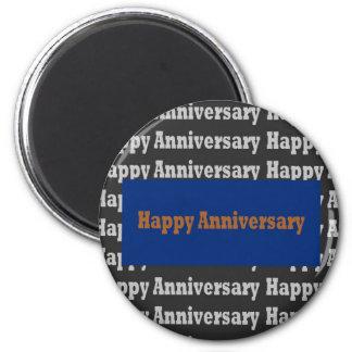 Template BLANK Happy+Birthday  Happy+Anniversary Magnet