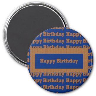 Template BLANK Happy+Birthday  Happy+Anniversary Refrigerator Magnet
