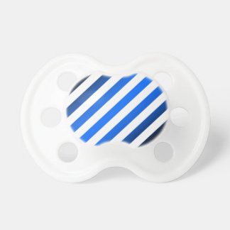 Template ~ Blue Black Stripes ~ Add Picture/Text Pacifier