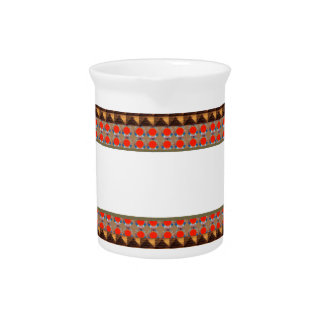 Template Border add TEXT Jewel FASHION lowprice Beverage Pitchers