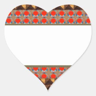 Template Border add TEXT Jewel FASHION lowprice Heart Sticker