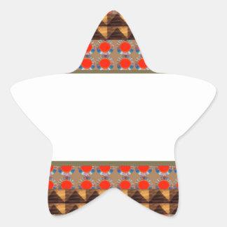 Template Border add TEXT Jewel FASHION lowprice Star Sticker