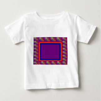 Template Border easy DIY add TEXT PHOTO QUOTE Infant T-shirt