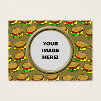 Template, Burger Border Business Card