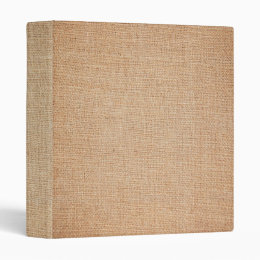 Template - Burlap Background Binder